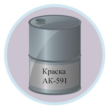Краска АК-591
