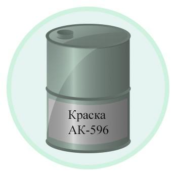 Краска АК-596
